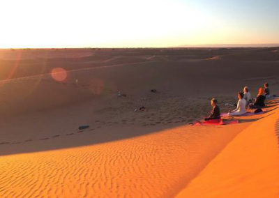 Yoga in the Sahara