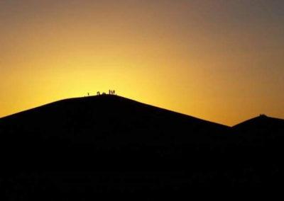 Sunset - Erg Chegaga